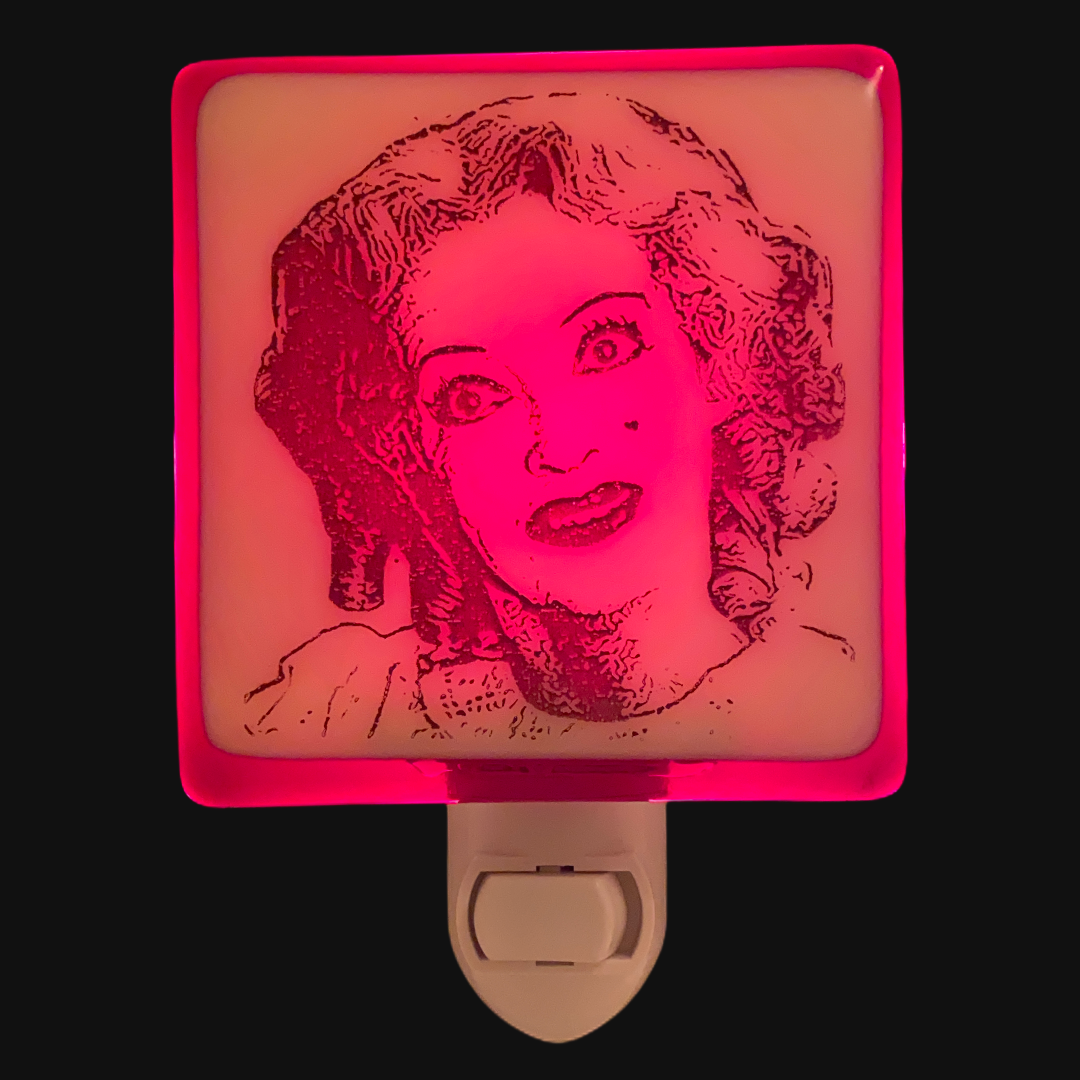 Baby Jane - Bette Davis Night Light