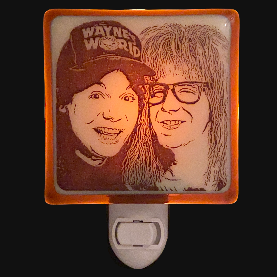 Wayne's World Night Light