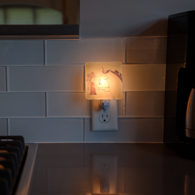 "Unicorn ""Act of Kindness"" Night Light by Melissa Flesher"