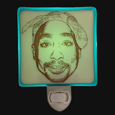Tupac Shakur 2Pak Night Light