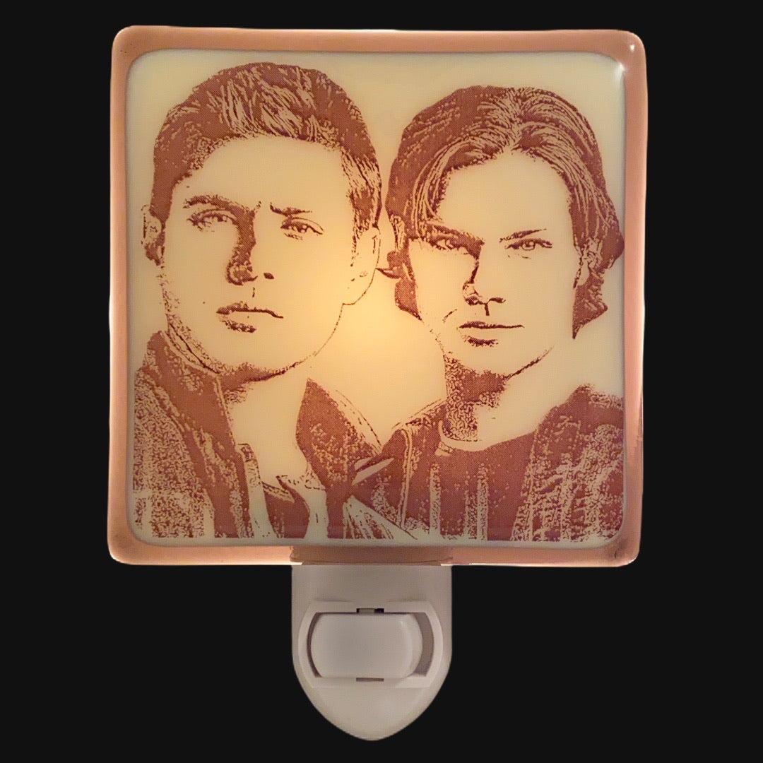 Supernatural Sam and Dean Winchester Night Light