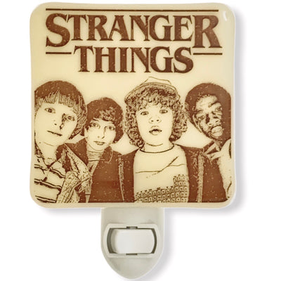 Stranger Things - Group Logo Night Light