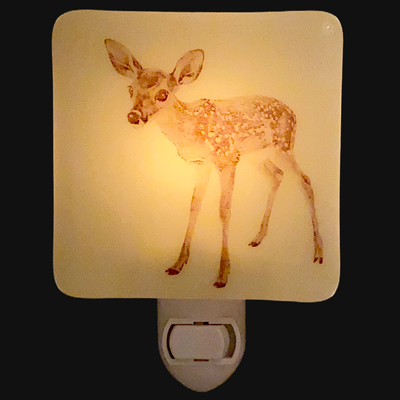 Fawn Standing Night Light
