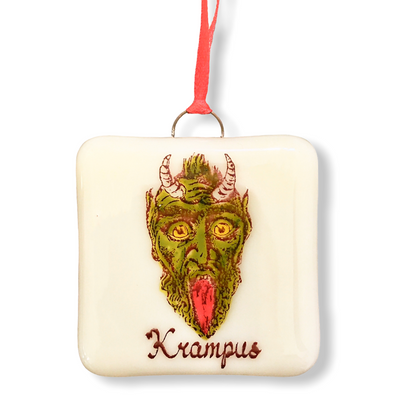 Krampus Ornament -  Hand Painted