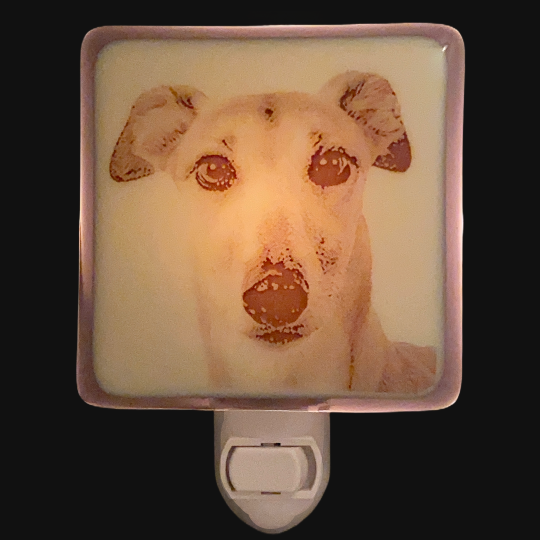 Greyhound Dog Night Light