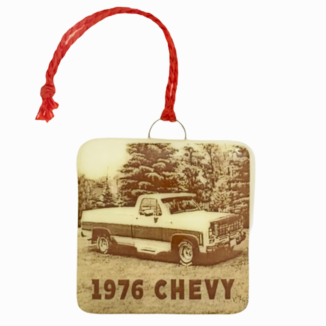 CUSTOM  Car Photo Ornament