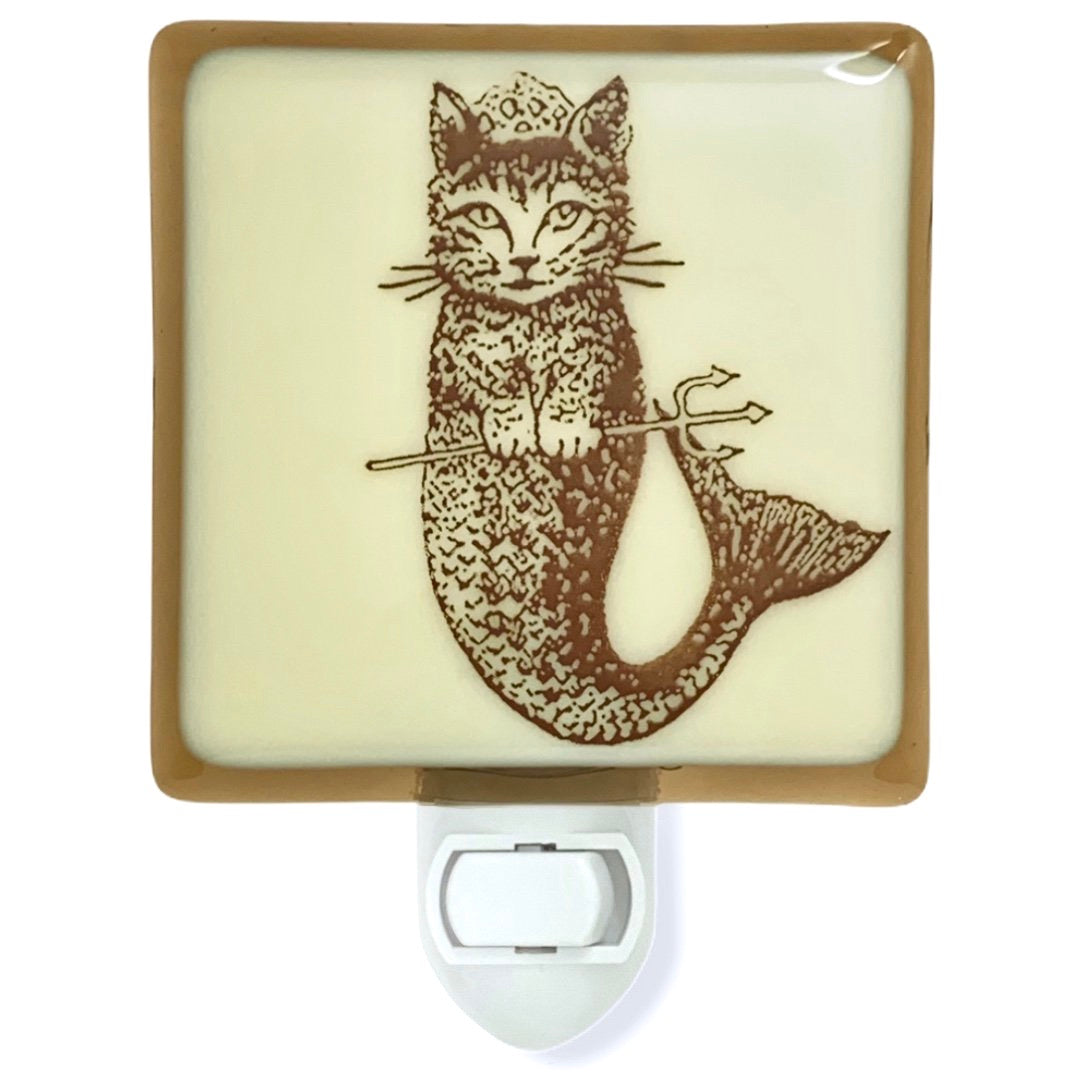 "Cat Mermaid ""Purr-maid"" Night Light"