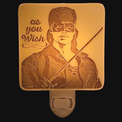 "The Princess Bride - Dread Pirate Roberts - Prince Westley ""As You Wish"" Night Light"