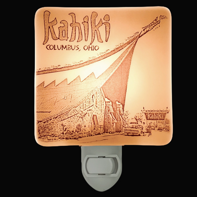 Columbus Ohio  - Kahiki Polynesian Supper Club Night Light