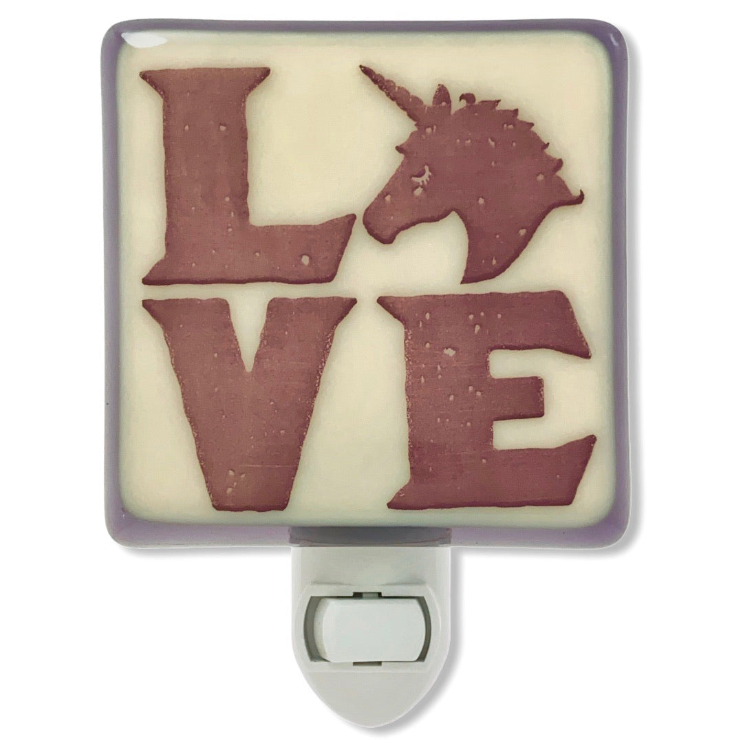 Unicorn LOVE Night Light