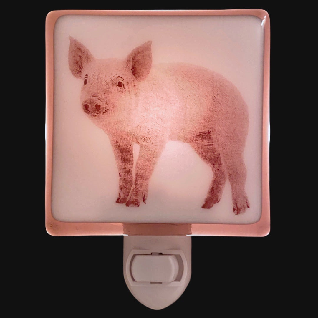 Baby Pig Night Light
