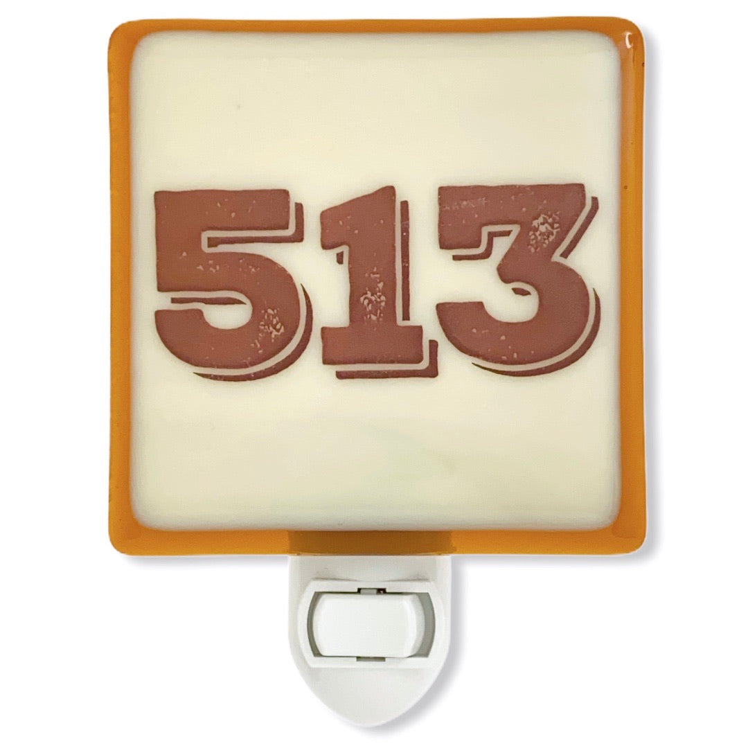 PERSONALIZED Area Code Night Light with Your Area Code