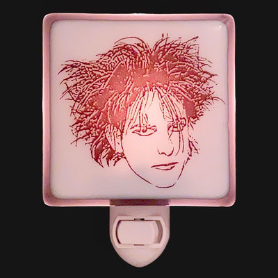 The Cure Robert Smith Night Light