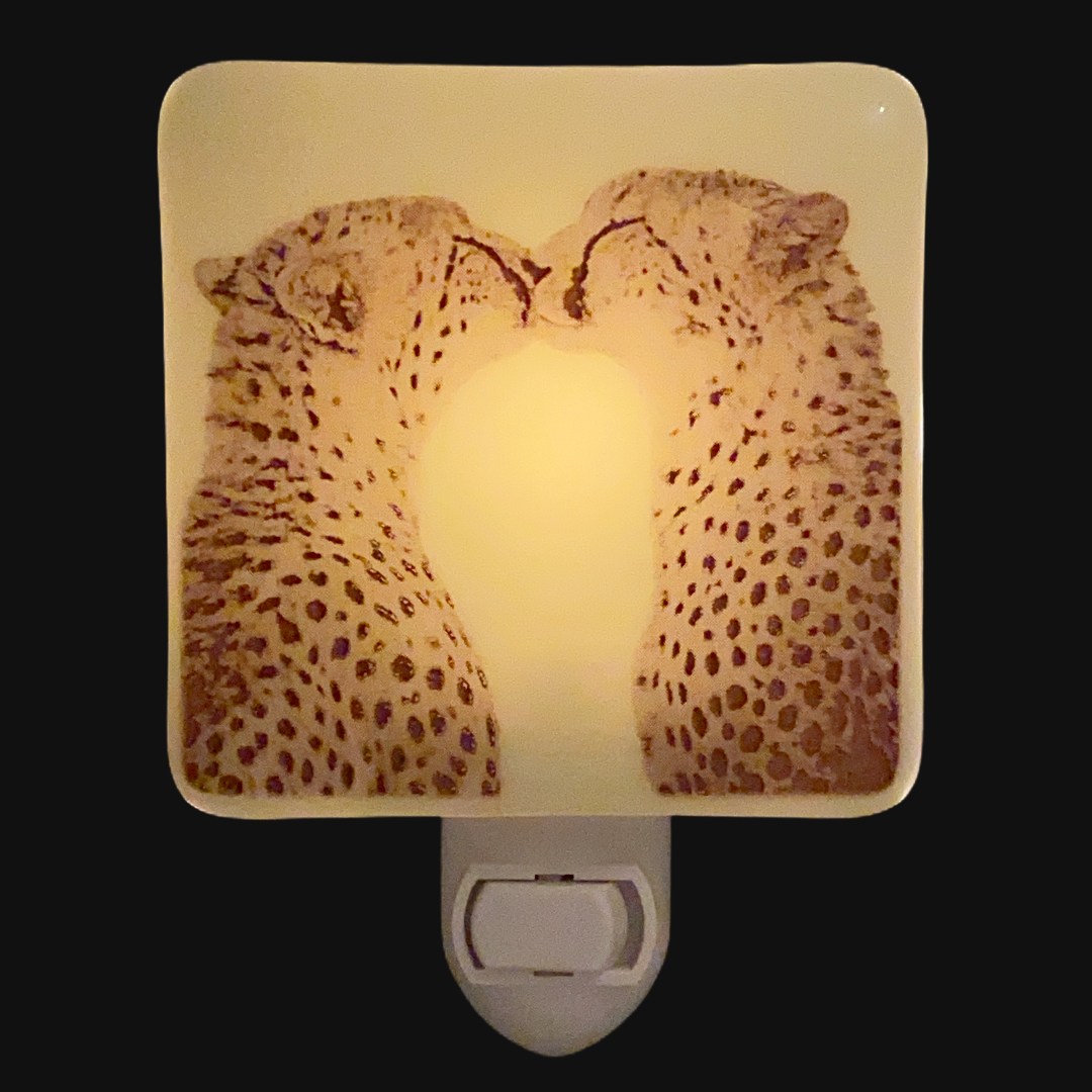 Cheetah Kiss Night Light