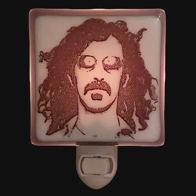 Frank Zappa with Sunglasses Night Light