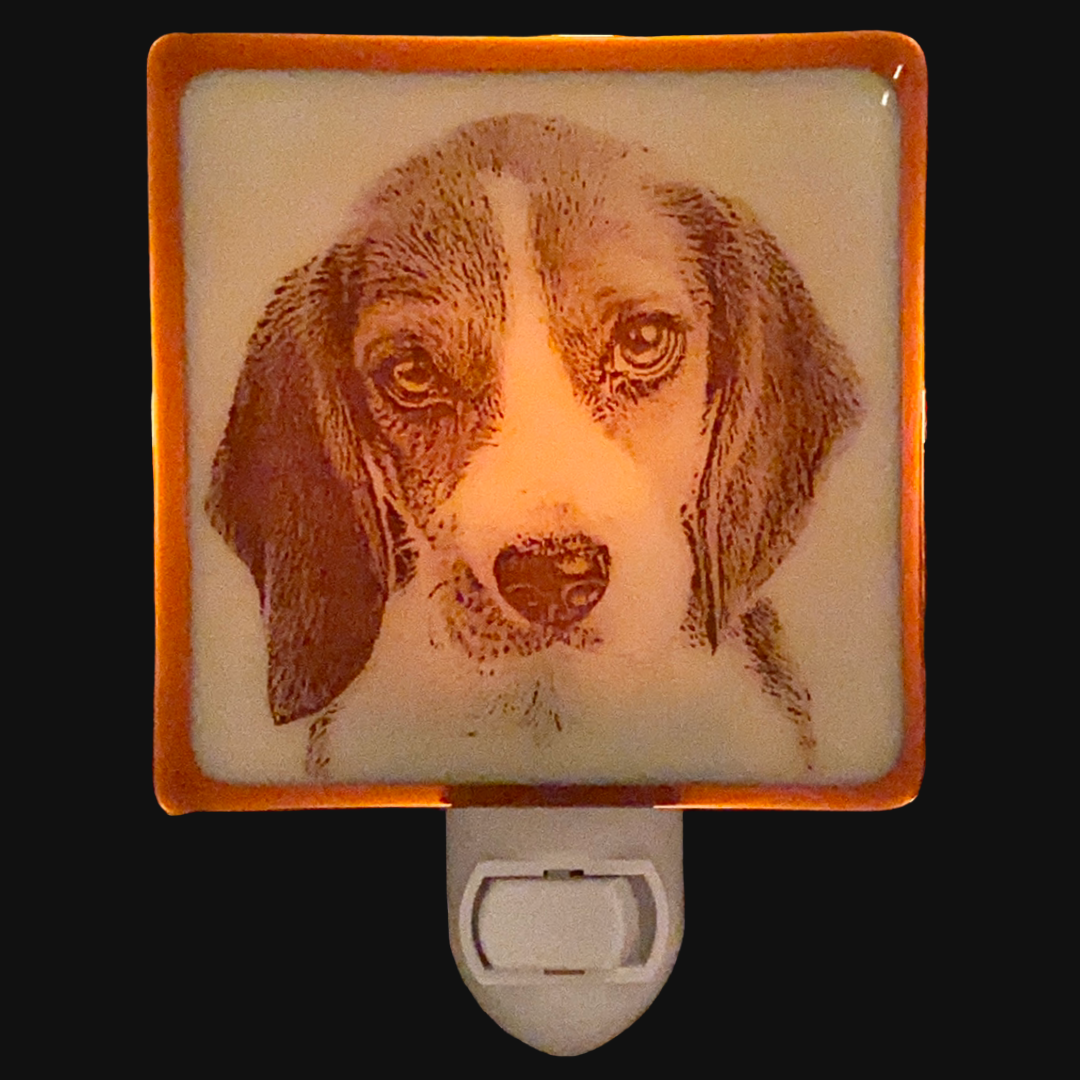 Beagle Puppy Dog Night Light