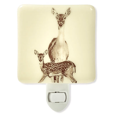 Deer Mom and Baby Night Light