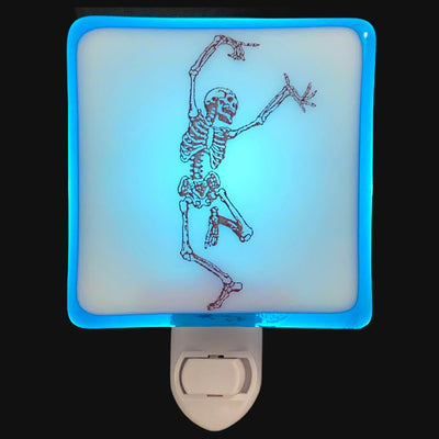 Skeleton Dancing Night Light