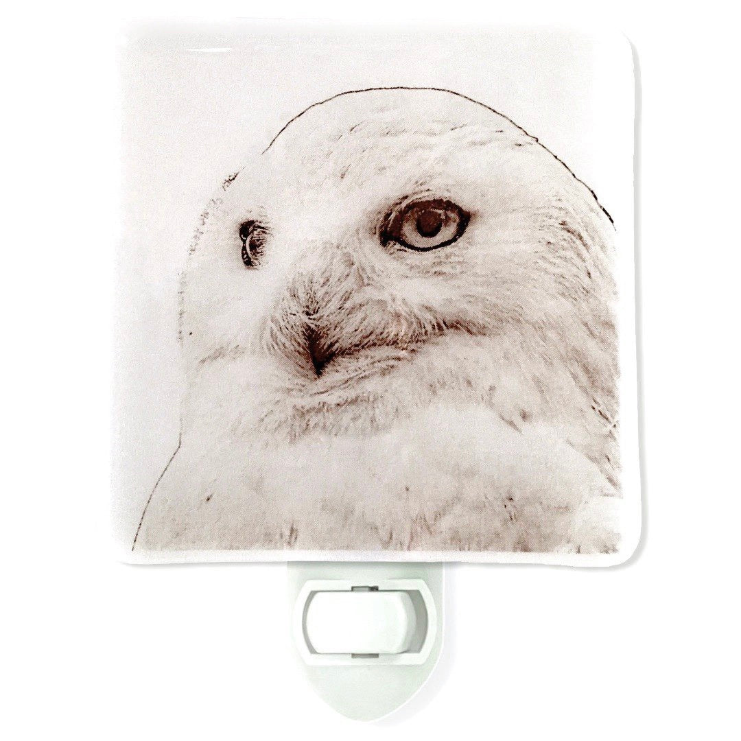 Snow Owl Night Light