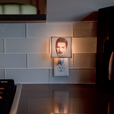 Freddie Mercury Night Light