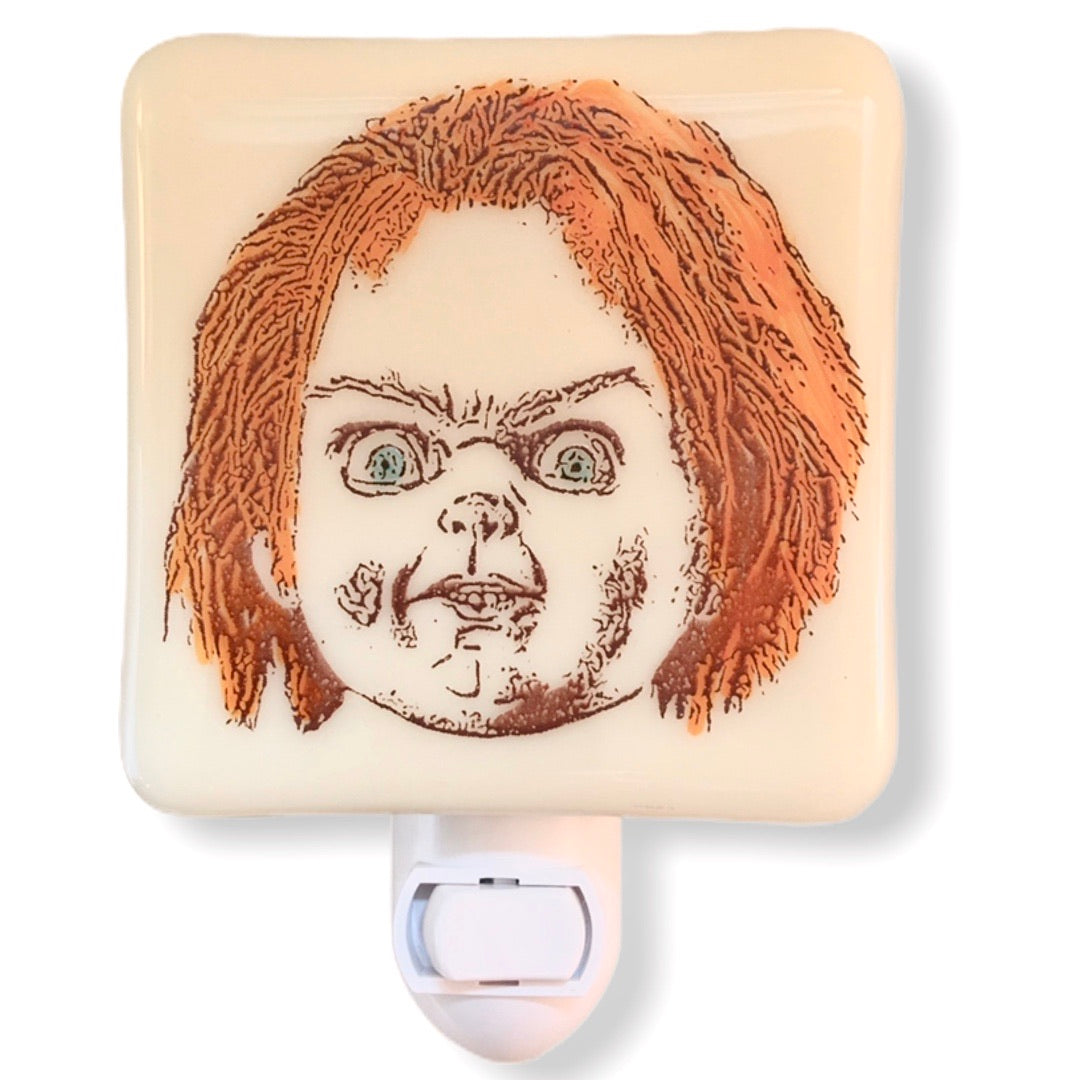 Chucky Child's Play Night Light Hand Painted