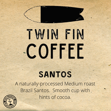 Load image into Gallery viewer, Santos Natural -  Brazil - 12oz
