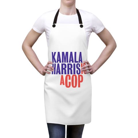 Kamla Harris Is A Cop Apron