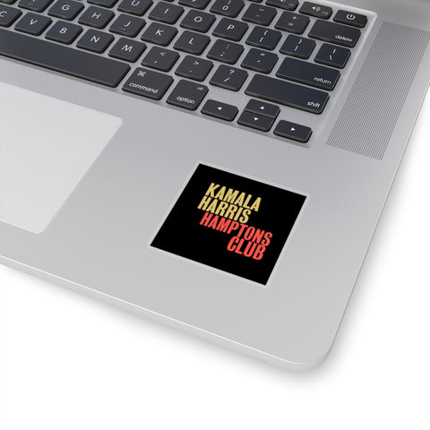 Kamla Harris Hamptons Club Kiss-Cut Stickers