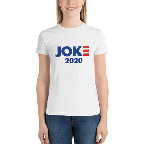 Joke 2020 Front Design Only Short sleeve women's t-shirt