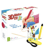 3D Maker Kit JR Amarillo - Kit de dibujo 3D