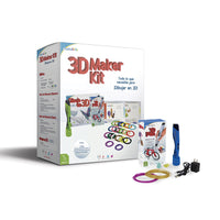 3D Maker Kit Azul