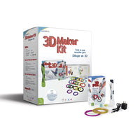 3D Maker Kit Blanco - Kit de dibujo 3D