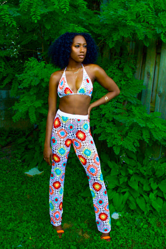 Flower Power 2pc crochet set