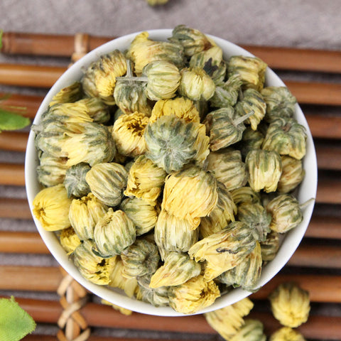 Tai Ju Hua Florists Chrysanthemum Flower Flos Chrysanthemi - Traditional Chinese Medicine - 999tcm - 999TCM