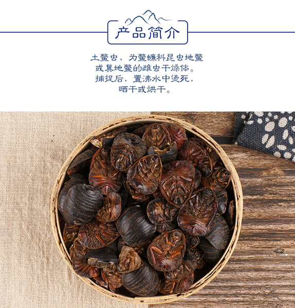 Tu Bie Chong Woodlouse Eupolyphaga Sinensis Walker - Traditional Chinese Medicine - 999tcm - 999TCM