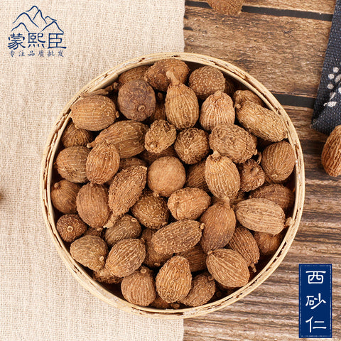 Xi Sha Ren Cocklebur-like Amomum Fruit Villous Amomum Fruit Fructus Amomi - Traditional Chinese Medicine - 999tcm - 999TCM