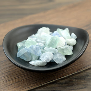 Zi Shi Ying Fluoritum Fluorite Fluorspar Mineral Form of Calcium Fluoride - 999 TCM