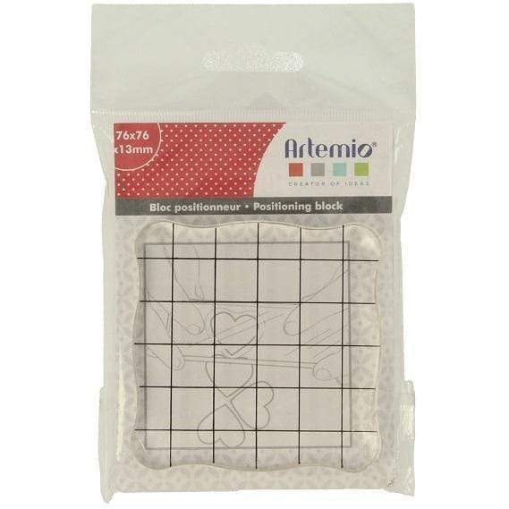 artemio base metacrilato sellos 76x76mm 18002092 ARTEMIO Oferta CENTROARTESANO