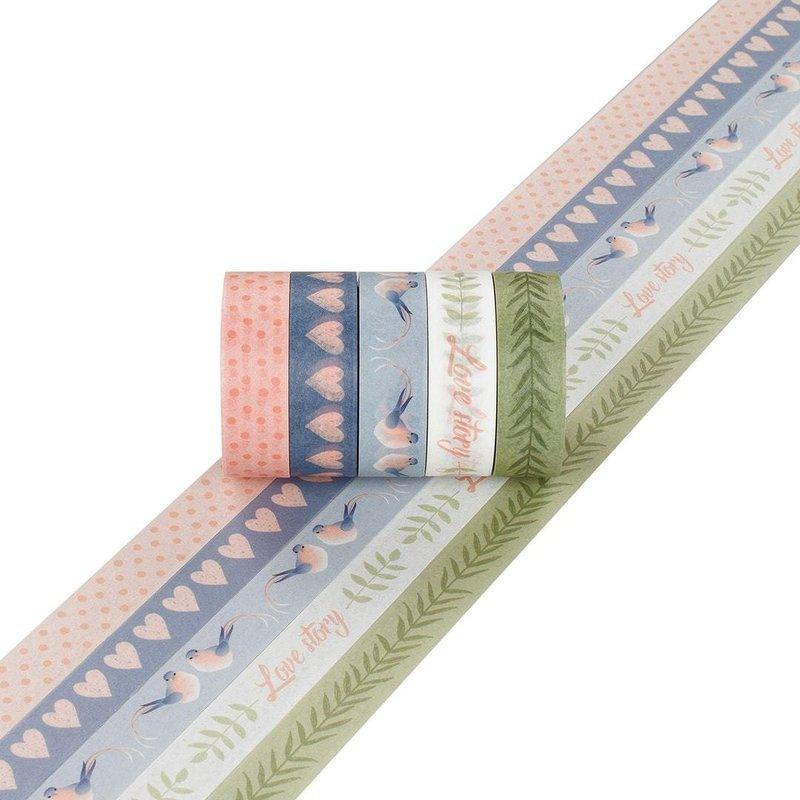 Artemio Masking Tape 5mx15mm 5ud Love11004720