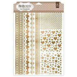 bobunny foil transfers accents 12812157 copper