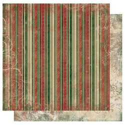 Papel bobunny 12FT019 stripe christmas