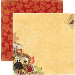 Papel Bobunny 18801042 Enchanted 30x30cm harvest