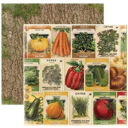 Papel Bobunny 18801051 Enchanted 30x30cm harvest seed packets