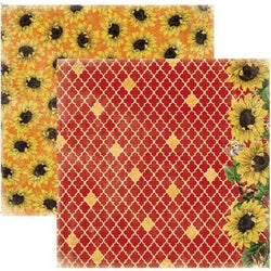Papel Bobunny 18801052 Enchanted 30x30cm harvest sunflowers