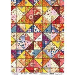 Cadence papel arroz 380 patchwork
