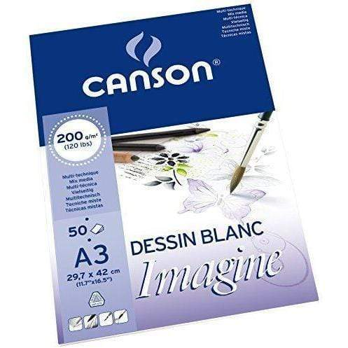 Canson block mix media imagine 200gr A3 200006007 CANSON Oferta CENTROARTESANO