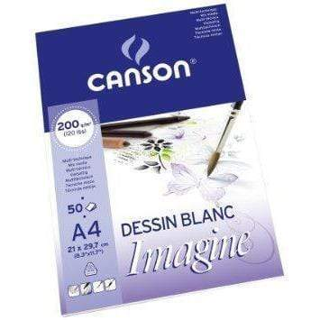 Canson block mix media imagine 200gr A4 200006008 CANSON Oferta CENTROARTESANO
