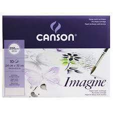Canson mini pack mix media imagine 200gr 24x32cm 10H 400056373 CANSON Oferta CENTROARTESANO