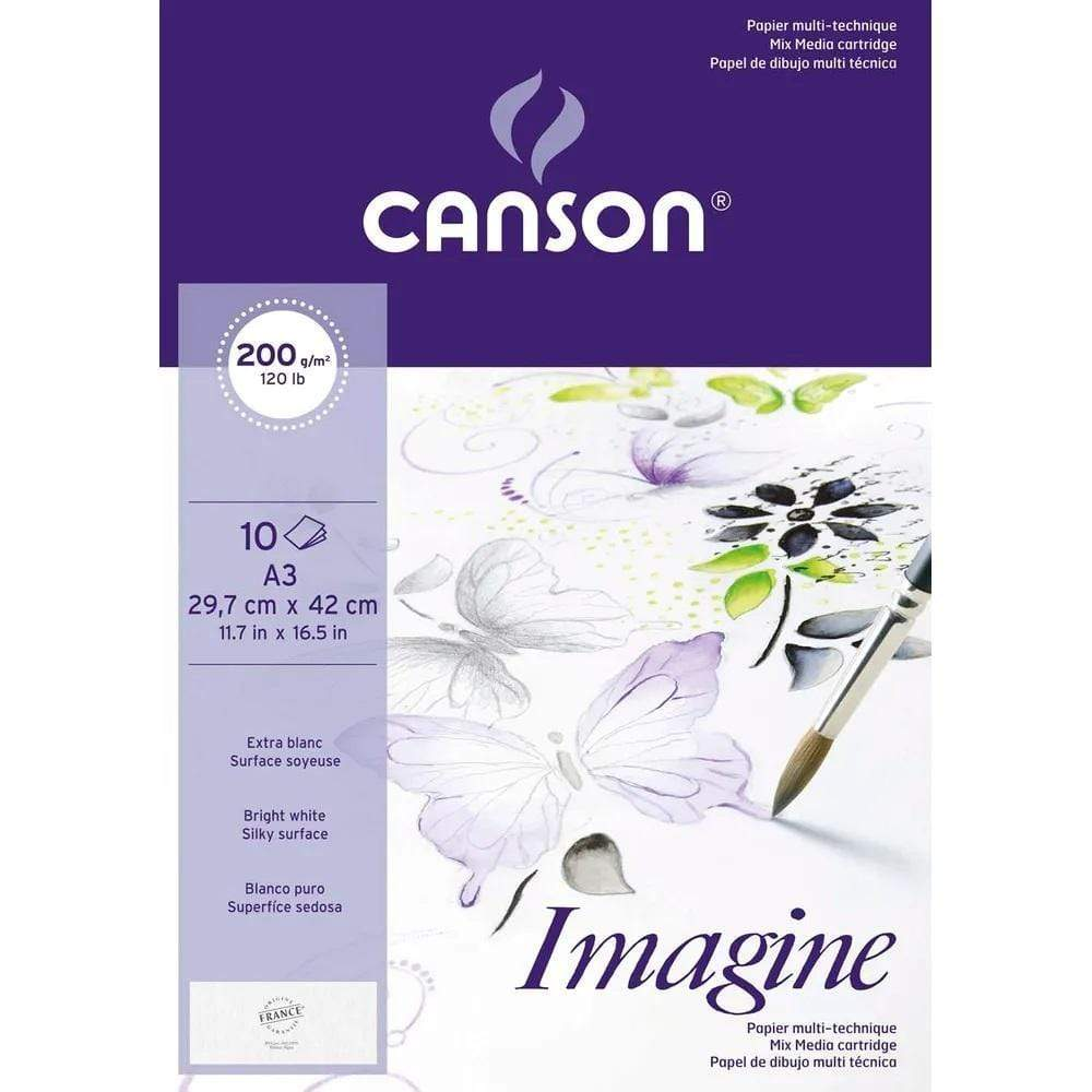 Canson mini pack mix media imagine 200gr A3 10H 400056420 CANSON Oferta CENTROARTESANO