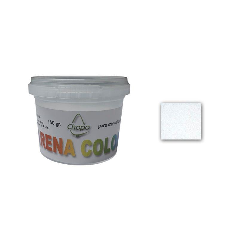 Arena color 150gr blanco CHOPO CENTROARTESANO